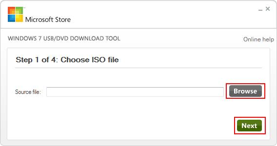 Εγκατάσταση Windows 7 μέσω USB - Step 2