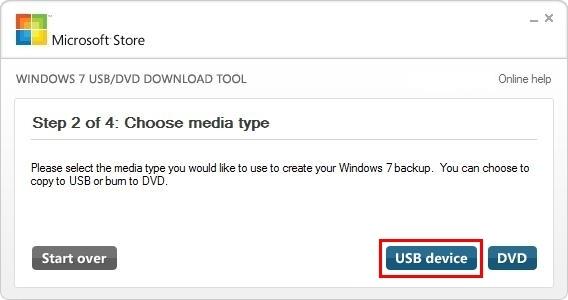 Εγκατάσταση Windows 7 μέσω USB - Step 3
