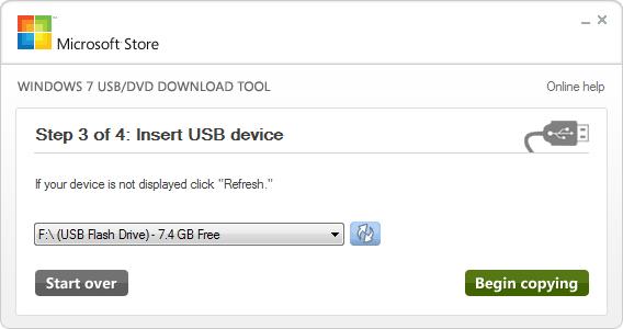 Εγκατάσταση Windows 7 μέσω USB - Step 4