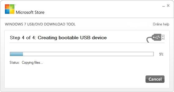 Εγκατάσταση Windows 7 μέσω USB - Step 5
